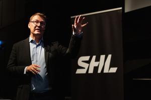 SHL:s domarchef, Tomas Thorsbrink. Bild: Maxim Thore/Bildbyrån