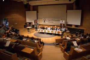 Deltagarna i Jägareförbundets årsstämma fick i år höra på vad de olika riksdagspartierna anser om jakt- och viltpolitiken.