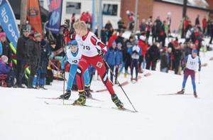 Den mest spännande striden utspelade sig mellan Gustav Påhlsson, Utrikes och jagande Måns Skoglund, Täby.
