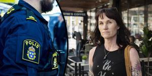 Eva Andersson bor i Olsbacka i Gävle och är arg och irriterad över de brott som hennes söner drabbats av de senaste veckorna.