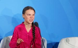 Känn er inte hotade av Greta Thunberg, uppmanar insändaren.