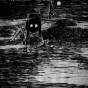 En gast smyger i natten. Illustration av Kungkoldung.