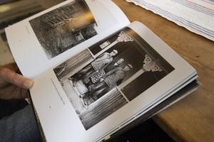 Intressant lokalhistoria. På en utav bilderna i boken hittar Seth Roos tre stycken släktingar.
