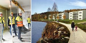 Det har för första gången på årtionden byggts nya hyreshus i Kramfors. Frågan är om det finns marknad för fler. Arkiv.