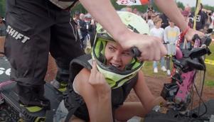 Hornen växer ut på Magdalena Graaf när det är dags att racea mot syrran Hannah.