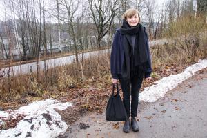 Erika Bengtsson odlar en del hemma, men hade gärna gjort det mer, som ett sätt att leva utanför systemet.