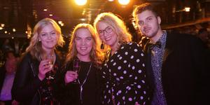 Celine Jones, Jessika Johansson, Jennifer Östlund, Alex Lundin.