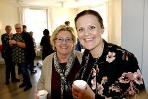 Lena Asplund (M) och Sara Nylund (S) menar att god personkemi borgar för att den oheliga alliansen mellan svensk politiks ärkefiender kommer att hålla i Västernorrland.