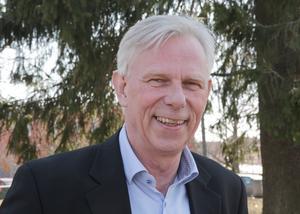 Lennart Silfverin är belåten över att ett expansivt datacenterbolag visar intresse för en etablering i Smedjebacken.