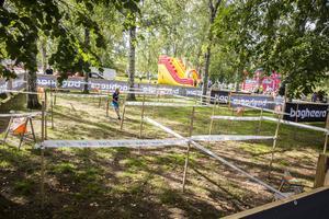 Dalaportens OL arrangerade en labyrintorientering i Stadshusparken.