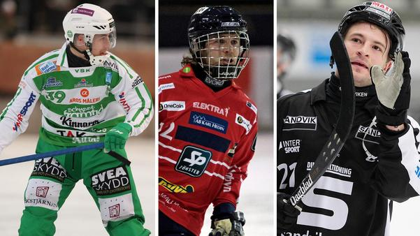 Martin Landström, Joakim Svensk och Christoffer Edlund är tre av spelarna i Veckans lag.