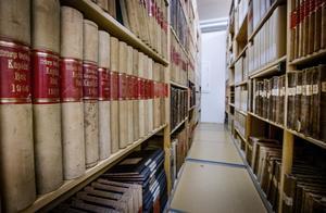 Hos Arkivcentrum förvaras känsligt historiskt material om företag och organisationer i Örebro län. Arkivfoto