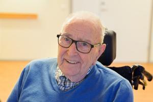 Paul Walraamoen, 91 år.