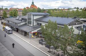 Busstorget, eller Gustav III:s torg, Östersund.