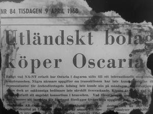 Braskande rubrik i NA 1968: