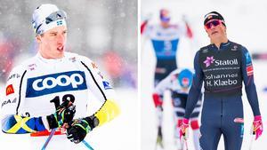 Calle Halfvarsson har planen klar för sig inför lördagens skiathlon. Bild: Bildbyrån.