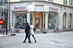 Malmö-kedjan Barista vill fokusera på södra halvan av landet, kaféet i Sundsvall ska säljas.