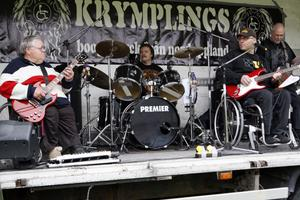 Boogietryck från norduppland bjöd Krymplings på under motordagen.