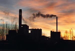 Fossilfri framtid. Kraftvärmeverket och annan uppvärmnnig skall bli fossilfri i Västerås. foto: peter krüger