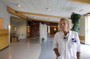 Lena Carlsson, tillförordnad sjukhusdirektör i Region Västernorrland.