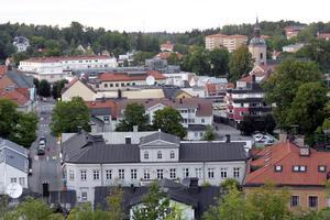 Staden som vi känner igen den. Foto: Anders Sjöberg. Arkivbild.