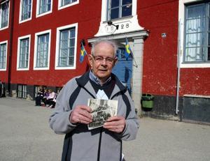 Härje Dahl gick i skolan 1929 då stenhuset invigdes.