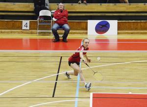 Olivia Wänglund tog sig enkelt vidare till morgondagens semifinaler.