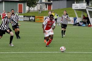 York Rafael gjorde sitt andra mål för säsongen när SIF körde över Upsala med 5–0.