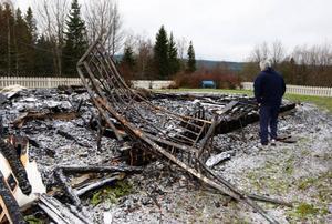 Tord Edler mår nu dåligt efter händelserna i somras.– Inte blir det bättre av att inte få reda på anledningen till branden, säger han.Foto: Jan Andersson