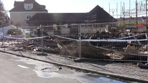 Den 21 augusti brann Elsa Andersons konditori i Norberg ned.