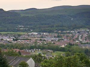 Staden Stirling i Skottland.