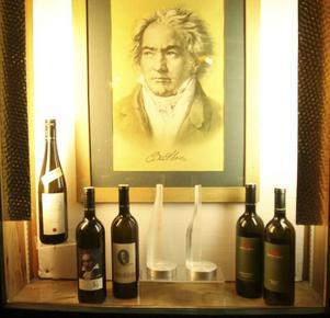 Beethoven lär ha druckit vin på Weingut Mayer am Pfarrplatz - Beethovenhaus.Foto: Hélène Lundgren