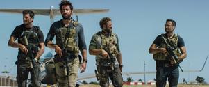 En grupp soldater (spelade av bland andra Pablo Schrieber, John Krasinski, David Denman och Dominic Fumusa) i Bengahzi fick det hett om öronen när det amerikanska konsulatet anfölls.
