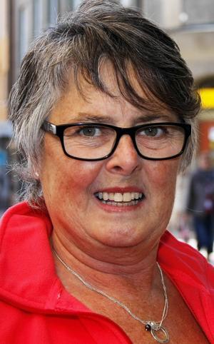 Doris Eriksson, 60 år, Östersund:   – Nej det gör jag inte. Jag har inte tittat på någonting. Jag är inte intresserad av fotboll. Hade det varit ishockey hade jag hellre tittat.