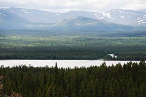 Här, i skogarna runt Duved och Ottsjön, befann sig Jens under de elva dygn han var vilse.