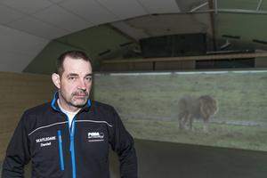 Daniel Östman är skjutledare.