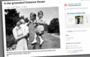 Brittiska kungahuset lägger ut bilder på Flickr