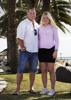 Far och dotter från Gävle – Johnny Ferlin, 47, och Lia, 14 – deltar i sjuans nya realityserie