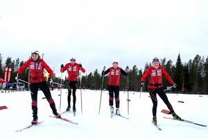 Stockviks SF, Filippa Lindman, Linnea Stark, Jens Selahn, Jacob Stark.