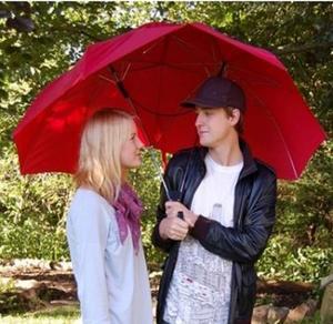 Paraply Lovers. Gulligt, gullare, paraply! Ett gulligt och kanske funktionellt paraply - för två. Finns hos Buttericks.se