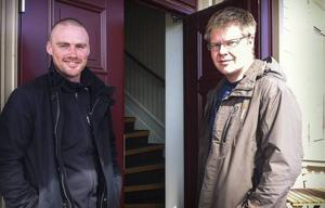 Per-Erik Eriksson och Andreas B Hallberg vill frigöra tid åt sina kunder.