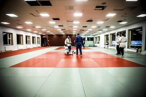 Östersunds Judoklubb huserar numera i 320 fräscha kvadratmeter på skidstadion.