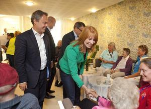 Samma beteckning. Jan Björklund och Annie Lööf leder partier som kallar sig liberala. Foto: Drago Prvulovic/Scanpix