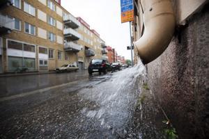 Nederbörden i juni på 100 millimeter var rekordstor och låg tre gånger över det normala, vilket hjälper till att höja grundvattennivån.
