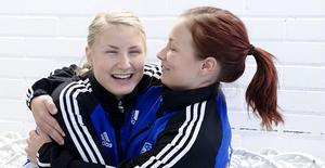 Syskonen Anna och Elin Nygårds är laddade inför kvalet mot Skogås som startar nu på lördag.