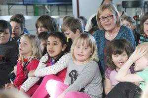 Barn från förskoleklass i Hede, som numera gått vidare till ettan.