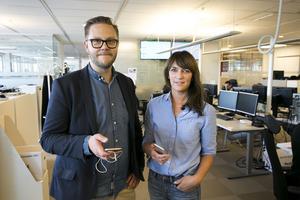 Carl-Johan Bergman och Fredrika Hillervik