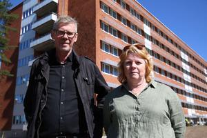 Landstingsråd GunnarBarke (S) och Bigitta Sohlberg (S), ordförande i Hälso- och sjukvårdsberedningen för norra Dalarna.