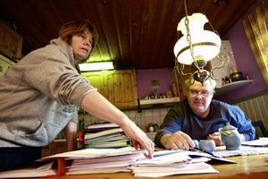 I snart fyra år har paret Per och Anna Skye kämpat mot den planerade vindkraftparken i området runt Svartnäs. Under torsdagen vann de en viktig delseger då Mark- och miljödomstolen sa nej till Bergvik Skogs planer.