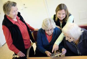 Anna-Greta Wikström, som fyllde 90 år i januari, berättade om sitt mångåriga arbete med SOS barnbyar.